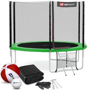 Hop-Sport Trampolína 10ft (305cm) zelená - 3 nohy