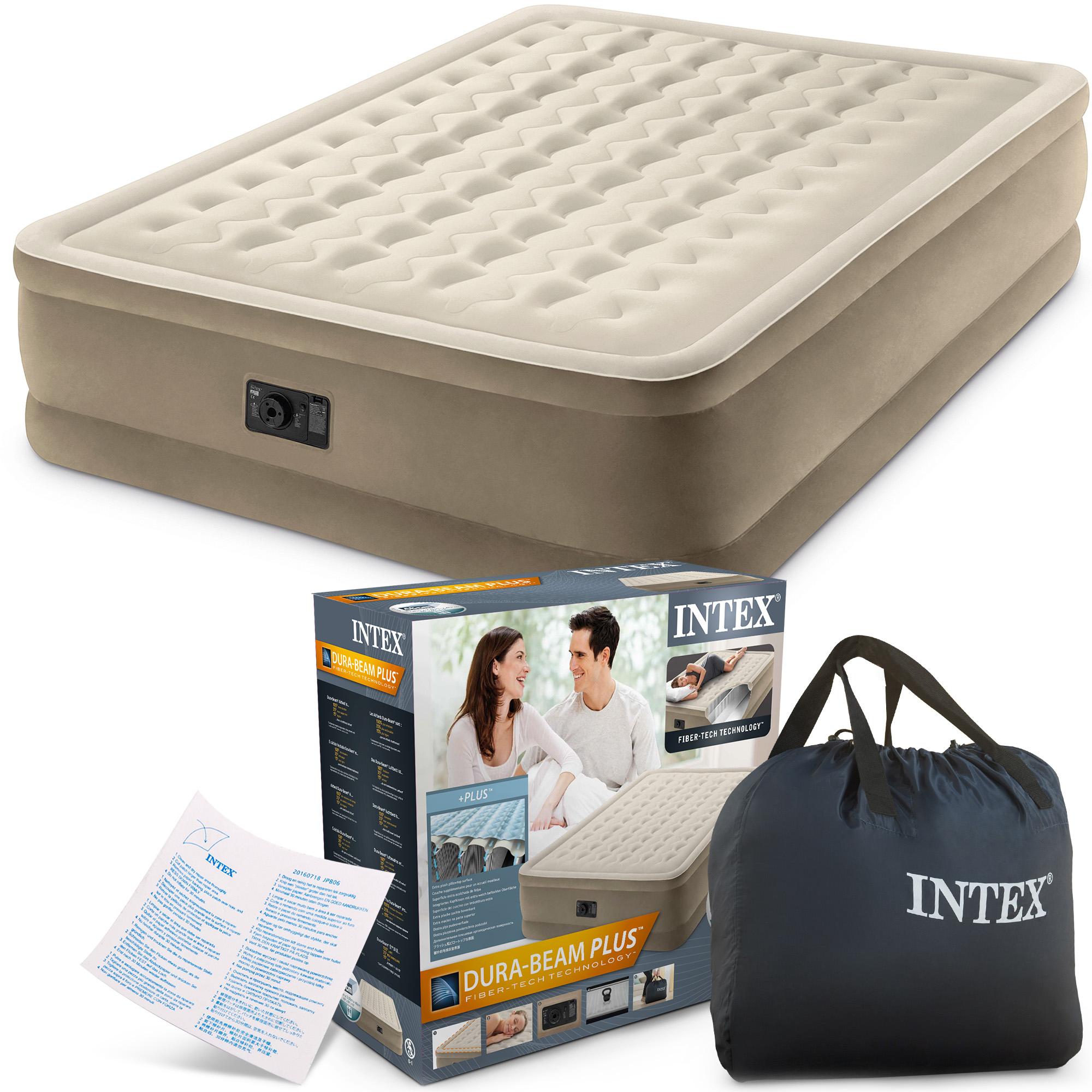 d2d5bb869f Nafukovací matrac s integrovanou pumpou INTEX 64458  1