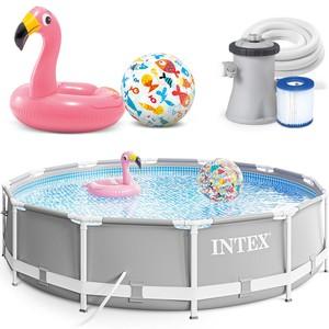 Intex Bazén 26702 Intex Prism Frame 305 cm x 76 cm s filtračnou pumpou