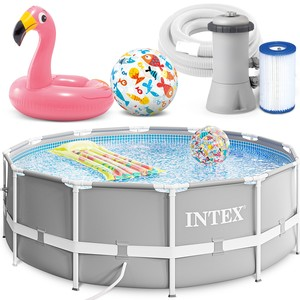 Intex Bazén 26712 Intex Prism Frame 366 cm x 76 cm s filtračnou pumpou