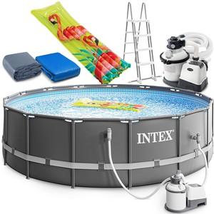 Intex Bazén Intex 26326 Ultra Frame 488 cm x 122 cm s filtračnou pumpou