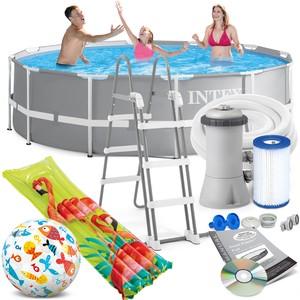 Intex Bazén Intex 26716 Prism Frame 366 x 99 cm s filtračnou pumpou
