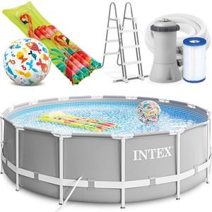 Intex Bazén 26720 Intex Prism Frame 427 x 107 cm s filtračnou pumpou