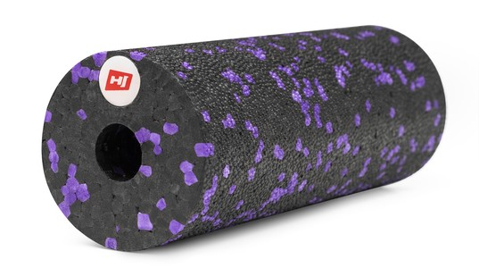 Hop-Sport Mini masážny valec EPP 15 cm fialový