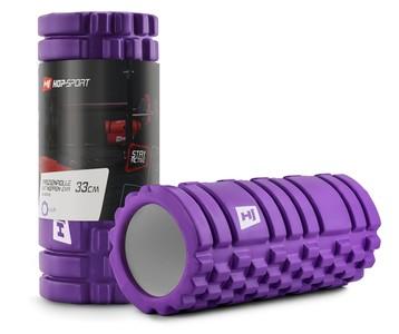 Hop-Sport Masážny valec EVA 33cm fialový