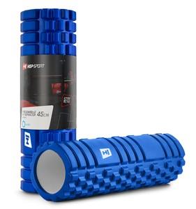 Hop-Sport Masážny valec EVA 45 cm modrý