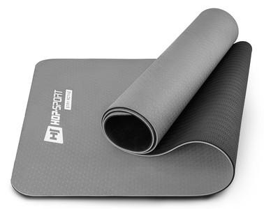 Hop-Sport Podložka Fitness TPE 0,6cm šedá