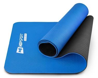 Hop-Sport Podložka Fitness TPE 0,6cm - modrá