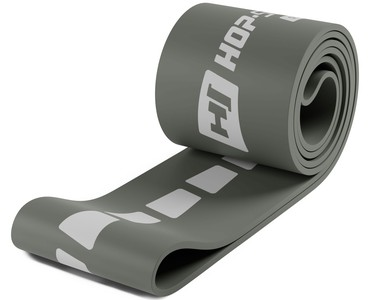 Hop-Sport Odporová guma 55-137kg - šedá