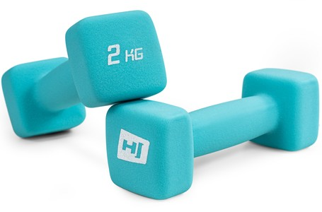 Hop-Sport Sada neoprenových činiek 2x2kg