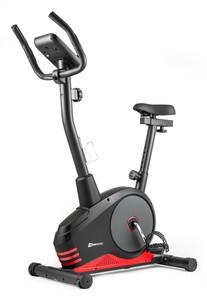 Hop-Sport Magnetický rotoped HS-2080 Spark čierno-červený