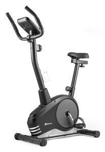 Hop-Sport Magnetický rotoped HS-2080 Spark čierno-strieborný