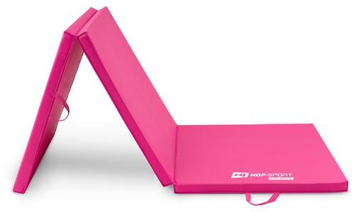 Hop-Sport Gymnastický matrac 4cm HS-064FM ružový