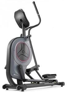 Hop-Sport Eliptický trenažér HS-100C Galaxy šedý s podložkou