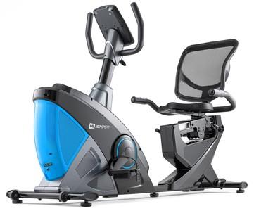 Hop-Sport Recumbent HS-070L Helix modrý + podložka