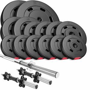 Hop-Sport HS Nakládací činkový set Premium 58kg