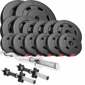 Hop-Sport HS Nakládací činkový set Premium 56kg