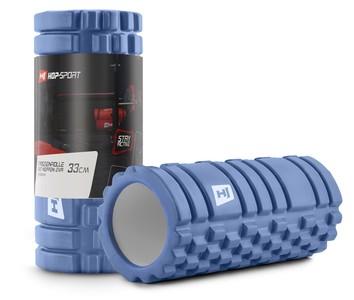 Hop-Sport Masážny valec EVA 33cm modrý