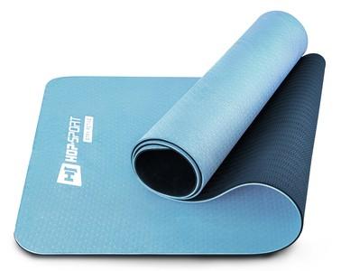 Hop-Sport Podložka Fitness TPE 0,6cm modro/bledomodrá