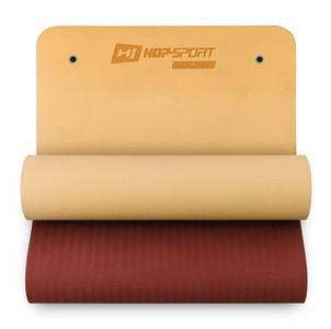 Hop-Sport Podložka TPE s otvormi 0,8cm oranžovo/červená