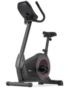 Hop-Sport Elektromagnetický rotoped HS-100H Solid čierny + podložka