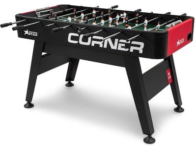 Premier Star Stolný futbal Corner Čierno-červený