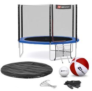 Hop-Sport Trampolína Hop-Sport 10ft (305cm) s vonkajšou ochrannou sieťou modrá