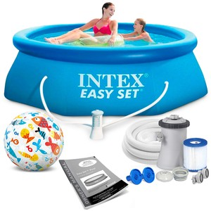 Intex Bazén 28122 Intex Easy Set 305 x 76 cm s pumpou
