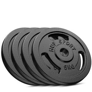Hop-Sport Hop-Sport Sada liatinových závaží 4x5kg 31 mm