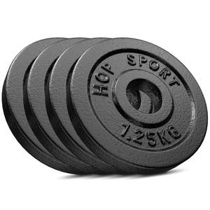 Hop-Sport Hop-Sport Sada liatinových kotúčov 4x1,25kg 31 mm