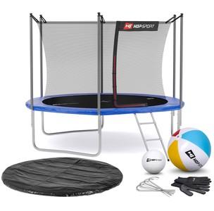 Hop-Sport Trampolína Hop-Sport 10ft (305cm) s vnútornou ochrannou sieťou modrá